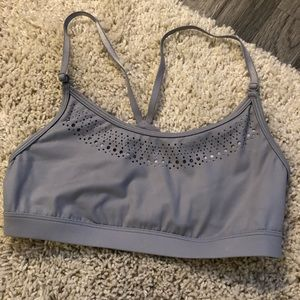Victoria's Secret sports bra gray size small